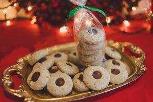 hazelnut button cookies