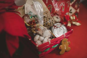 Luncheonette holiday baked goods basket