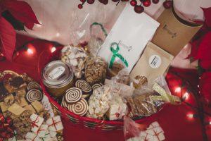 Jubilee Holiday Basket of baked goods