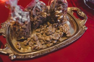 Candies walnuts